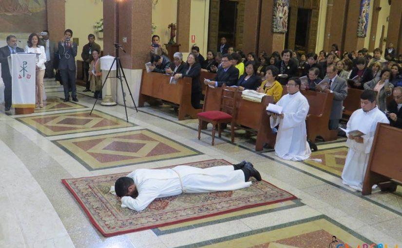 ORDENACION DIACONAL DE CRISTHIAN SECLEN