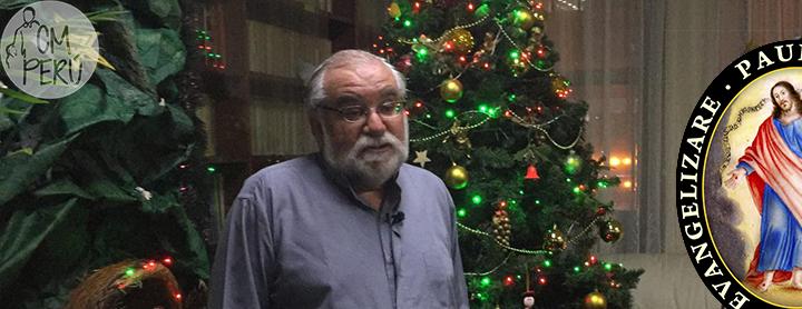 Mensaje de Navidad del P. Pedro Guillén, CM