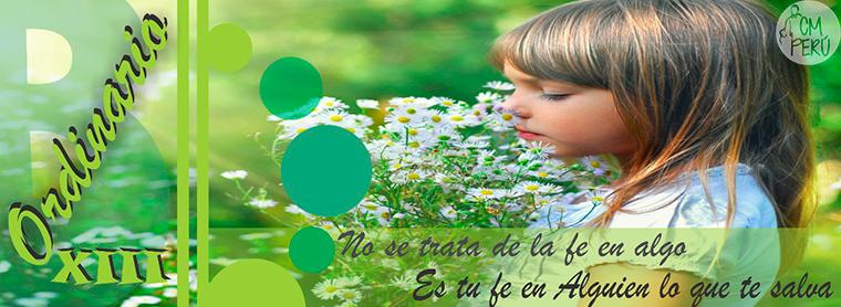 """LECTIO DIVINA-  DOMINGO 13 TO – """"B"""""""