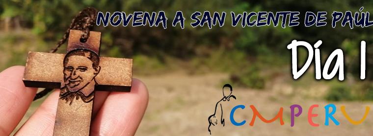 Novena a San Vicente De Paúl: Día 1