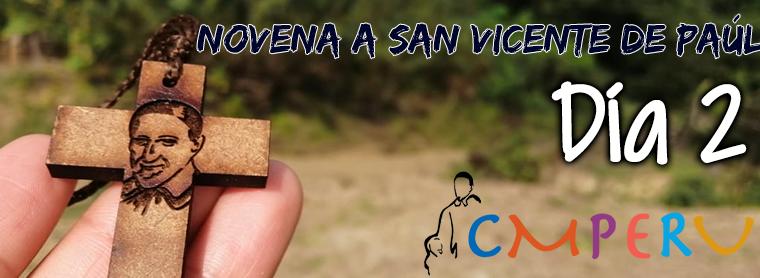 Novena a San Vicente De Paúl: Día 2