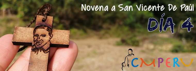 Novena a San Vicente De Paúl: Día 4