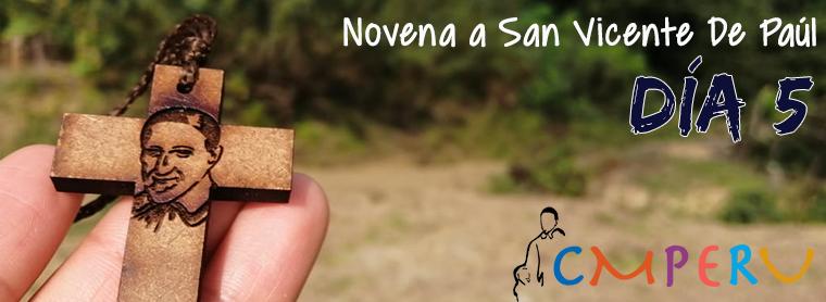 Novena a San Vicente De Paúl: Día 5