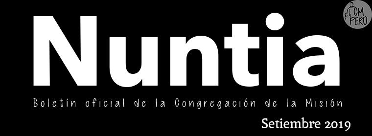 NUNTIA SETIEMBRE 2019