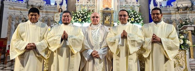 Cuatro nuevos Diáconos para la Iglesia