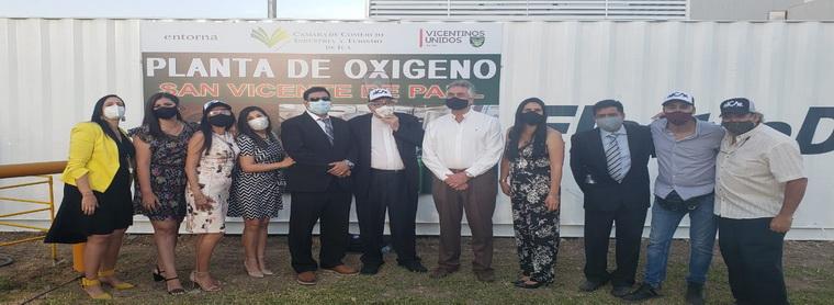 PLANTA DE OXIGENO EN ICA PARA AYUDAR A LOS ENFERMOS
